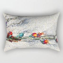 Seaside Arrangement Rectangular Pillow