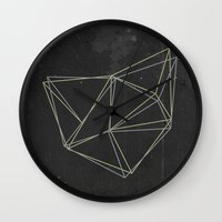 geo Wall Clocks featuring Geo by Last Call