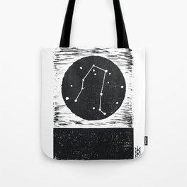 Gemini Linocut Tote Bag