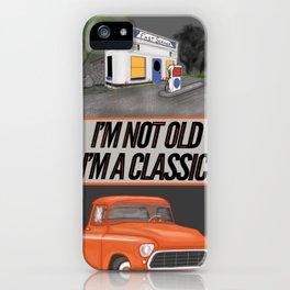 Route 66 Classic Living iPhone Case