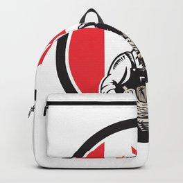 Canadian Female Organic Farmer Canada Flag Icon Backpack