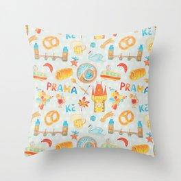 Adorable Prague Throw Pillow