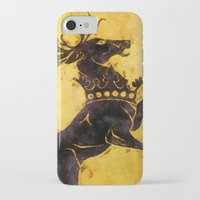 stag iPhone & iPod Cases featuring Stag by Narwen