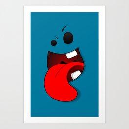 Faces V3 Art Print