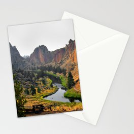Desert Rock Valley Stationery Cards