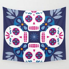 Talavera Blue Wall Tapestry