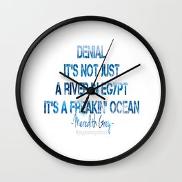 Denial Wall Clock