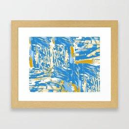 Fields of Blue Framed Art Print