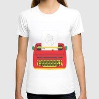 typewriter T-shirts featuring Typewriter by EinarOux