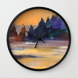 Morning awakening Wall Clock