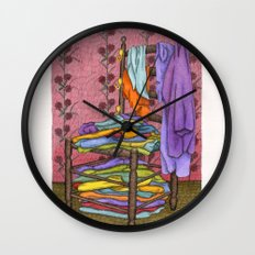 The Closet Wall Clock