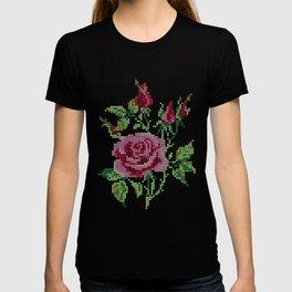 Rose Stitch T-shirt