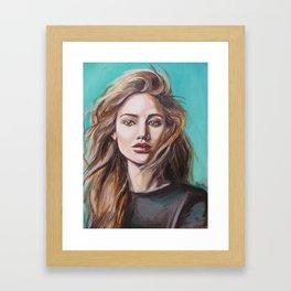 Jennifer Framed Art Print