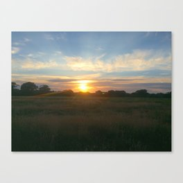 Original Sunset Photography Canvas Print