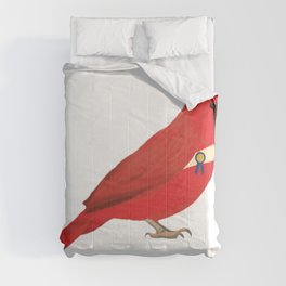 Graduation Cardinal Comforters
