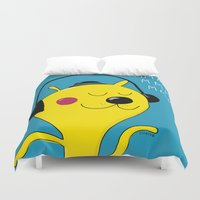 dj Duvet Covers featuring dj by Sucoco