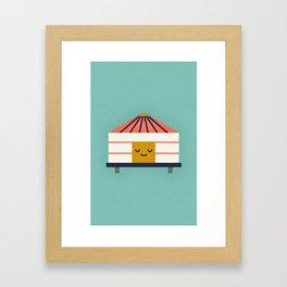 Yurt Framed Art Print