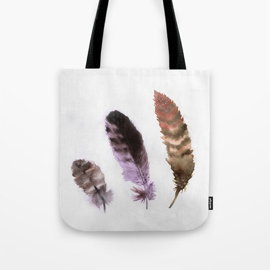 Feathers III Tote Bag