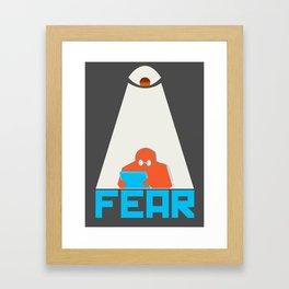 Fear the NSA Framed Art Print