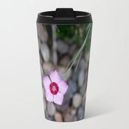 Purple Flower 2 Travel Mug