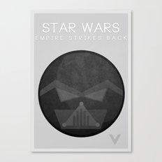 Star Wars V: The Empire Strikes Back Canvas Print