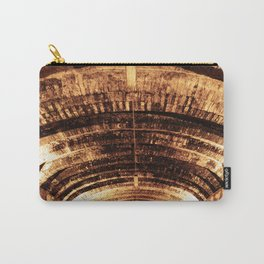 Wine Cellar // A Modern Artsy Style Graphic Photography of Cellar Room for Oak Barrels Carry-All Pouch