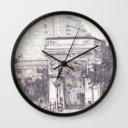 Washington Square Park Wall Clock
