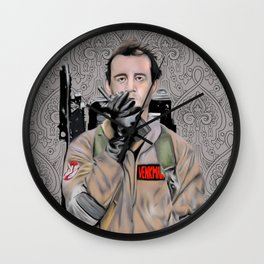 Bill Murray in Ghostbusters Wall Clock