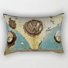 VW Rusty Rectangular Pillow
