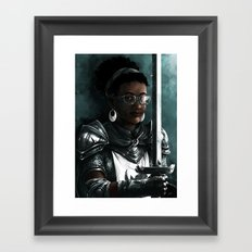 Knight two Framed Art Print