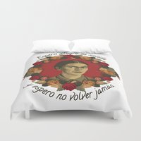 frida Duvet Covers featuring FRIDA by badOdds