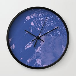 blush ii Wall Clock