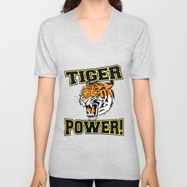 Tiger Power Unisex V-Neck