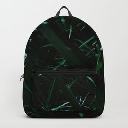 Grass blades basking in the sun - Abstract Backpack