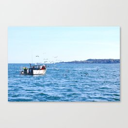 Lobstering Canvas Print