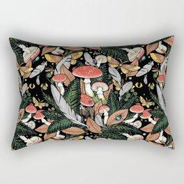 Nocturnal Forest Rectangular Pillow