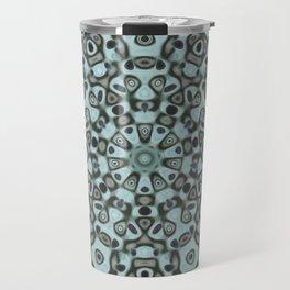 A mandala of masks Travel Mug