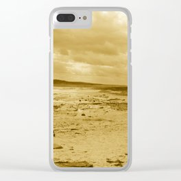 Low Tides - Sepia Palette Clear iPhone Case