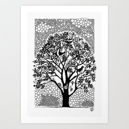 NOT just a Tree Art Print