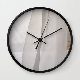 curtains for you Wall Clock