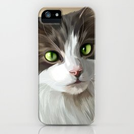 Bentley The Cat iPhone Case