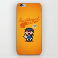 earthbound iPhone & iPod Skins featuring Earthbound & Down by Jango Snow
