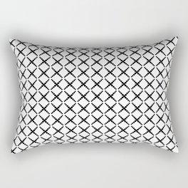 Going around in circles Rectangular Pillow