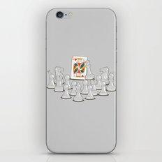 Wrong King iPhone & iPod Skin