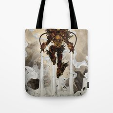 Steamy Iron Tote Bag