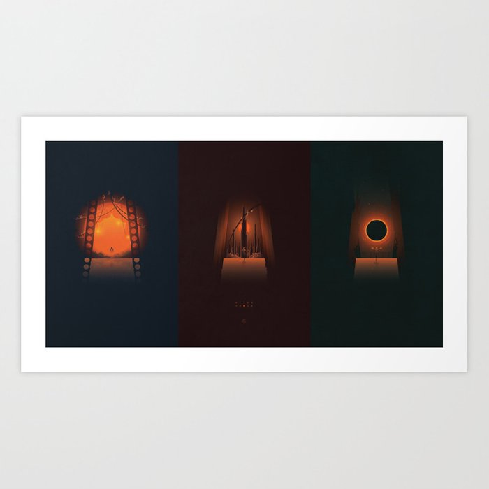 AfterShock - Trio Art Print