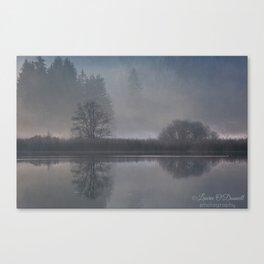 Bird in the Mist Canvas Print