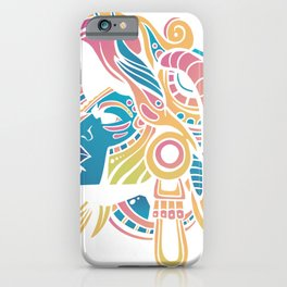 Huichol Krieger iPhone Case