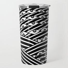"""Amok"" by Drew Litowitz Travel Mug"