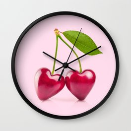 CHERRY LOVE Wall Clock